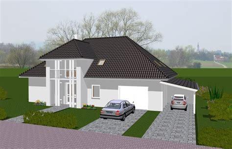 Haus Mit Carport Und Garage by Lyra Haus Stadtvilla Mit Garage Carport