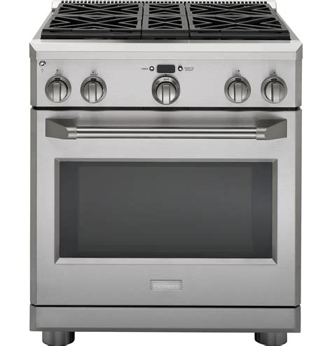 Ge Monogram 30 Inch Gas Cooktop monogram 30 quot all gas professional range with 4 burners gas zgp304nrss ge appliances