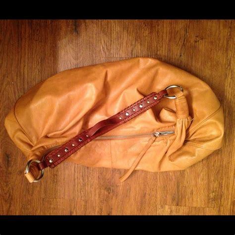 Sigrid Olsens Croc Embossed Leather Hobos by 69 Handbags Sigrid Large Hobo Leather Bag In