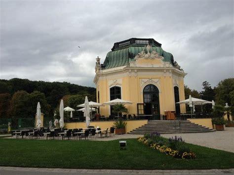pavillon schönbrunn pavillon mit sch 246 ner gartenterrasse picture of
