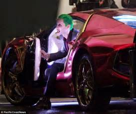 Vanity Licence Plate Ideas First Shots Of Jared Leto On Set As The Joker Sonic 102 9