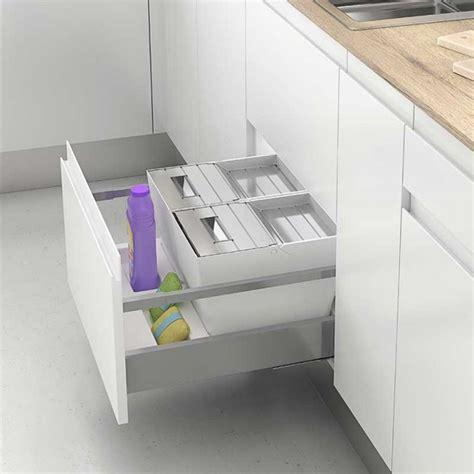 cubos reciclaje basura  cajon de cocina mod