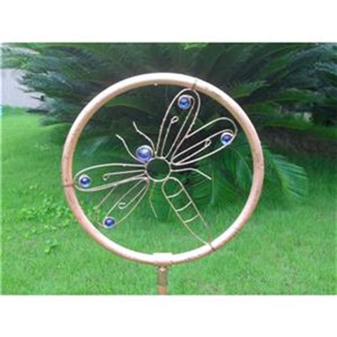 new decorative dragonfly copper sprinkler lawn garden