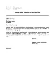 Budget Transmittal Letter Ads Reference 306sao U S Agency For International Development