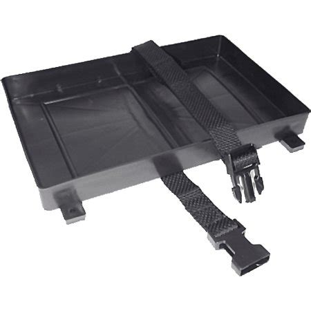 boat battery buckle seachoice battery tray with hold down strap walmart
