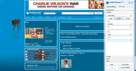 layout editor myspace myspace is getting redesigned layout