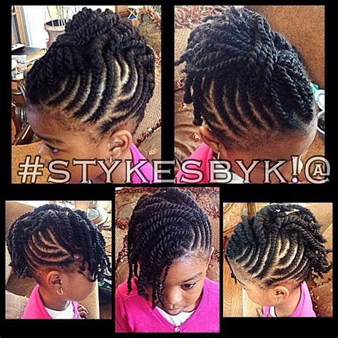 images of kids hair braiding in a mohalk cute braid cornrow style for little girl kids children