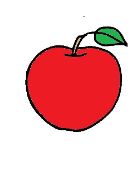 colored apple apple template colored clipart best clipart best