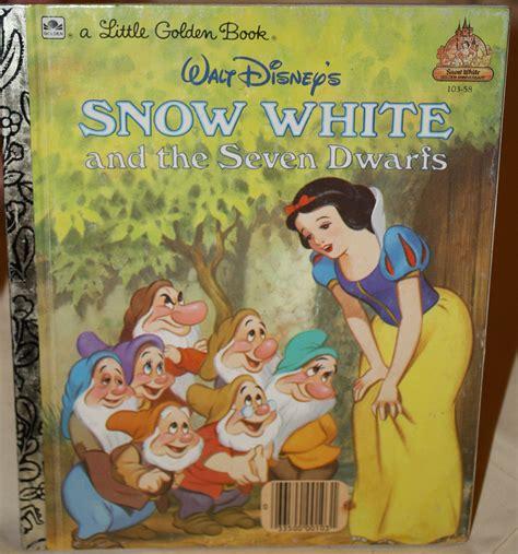 snow white picture book items similar to walt disney s 1984 snow white a