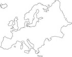 Europe Map Outline by Europe Continent Outline Related Keywords Amp Suggestions