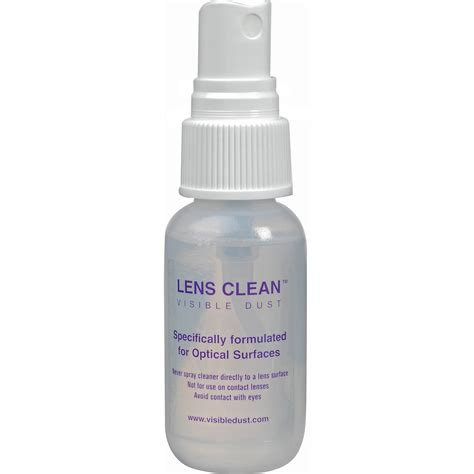 lens cleaning visibledust lens clean solution 30 ml 2773161 b h photo