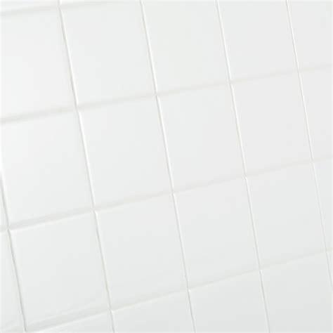 1 white ceramic tiles daltile restore bright white 4 1 4 in x 4 1 4 in ceramic