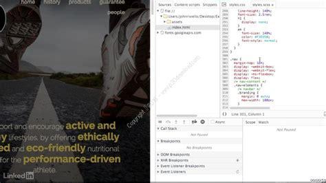 css tutorial lynda lynda css to sass converting an existing site a2z p30