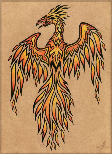 rising phoenix tattoos 24 best drawing images on