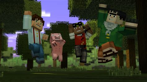 minecraft story mode icxm net minecraft story mode episode 4 gets release date
