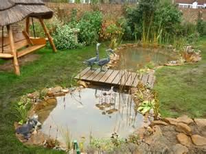 wooden bridge garden feature woodworking projects plans