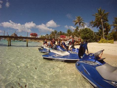 the open boat explanation lunch on the private motu picture of moana jet ski