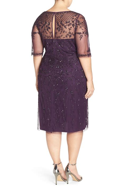 Nordstrom Rack Plus Size Dresses by Papell Beaded Cocktail Dress Plus Size