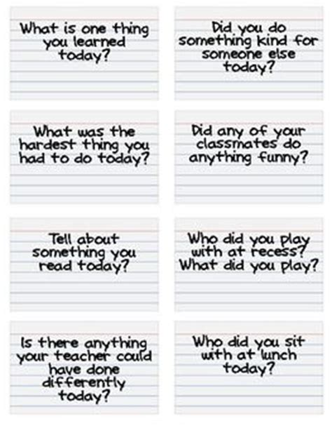 Or Questions Cards End Of The Day Jar Questions Cards For Community Building Classroom Jars Card
