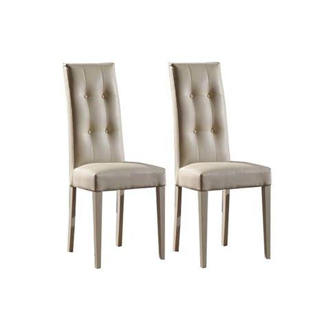 chaise simili cuir chaise capitonnee simili cuir