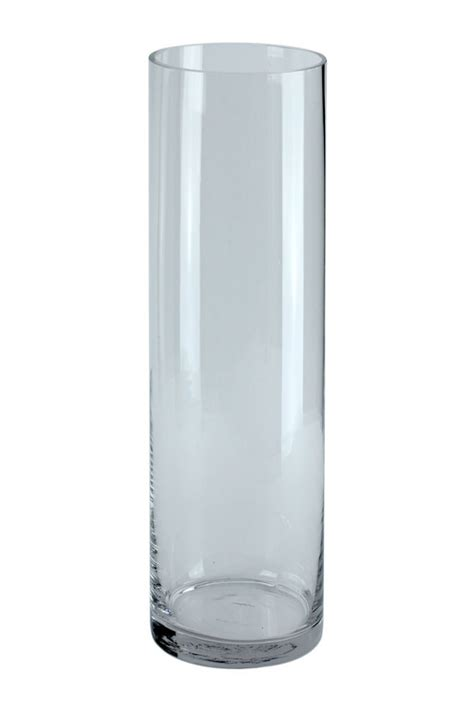 Cylinder Vase by Glass Cylinder Vase 40x18cm Whittingtons