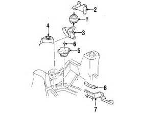 parts 174 oldsmobile bravada engine trans mounting oem parts