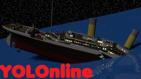 titanic boat sinking movie titanic sinking animation movie theory version 1 youtube