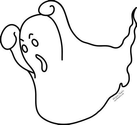 Ghost Coloring Pages Cute Ghost Coloring Pages Kids Ghost Color Page