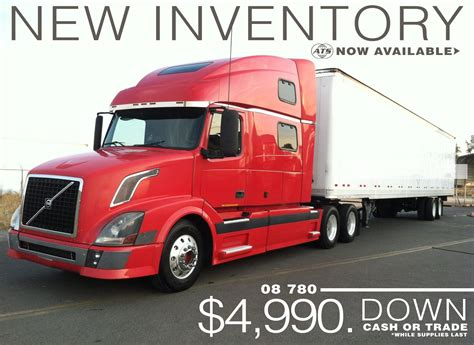 volvo inventory american truck showrooms