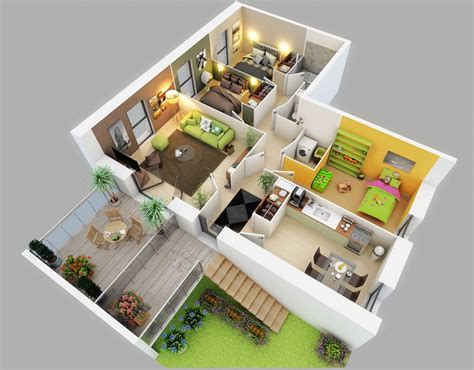 3 bedroom apartments 25 three bedroom house apartment floor plans