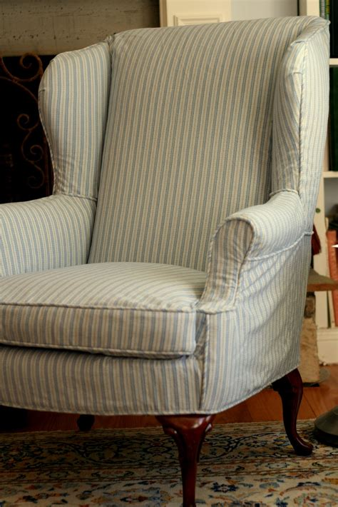 shabby chic slipcovers for wingback chairs custom slipcovers by shelley shabby chic wingbacks