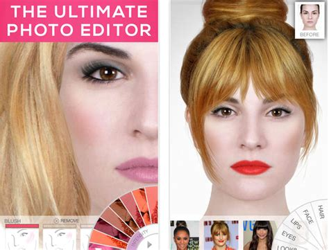makeover photo app best makeup apps for iphone ipad and android