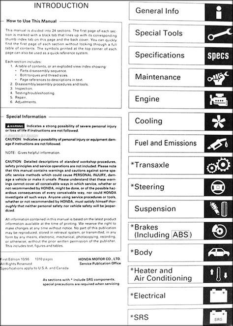 free online auto service manuals 2000 honda odyssey lane departure warning service manual pdf 1997 honda odyssey service manual honda odyssey 1997 misc document
