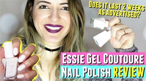 essie no light gel no uv light essie gel couture nail review essie