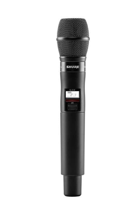 Microphone Wireless Shure Ur 4dx shure qlxd2 ksm9 handheld wireless microphone transmitter pro audio superstore