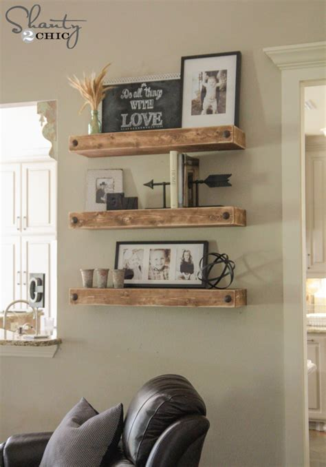 decorating your home diy floating shelves