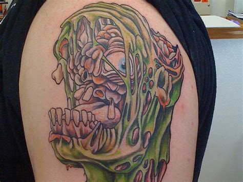 new tattoo gooey zombie tattoos and designs page 54
