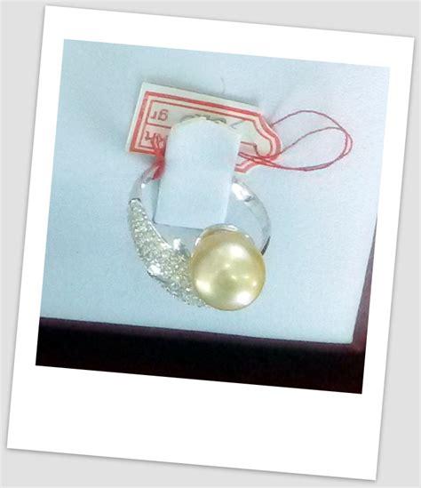 Promo Cincin Mutiara Lombok Air Tawar Khas Sekarbela 1 cincin mutiara emas 0084 harga mutiara lombok perhiasan