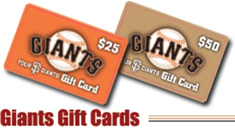 Mlb Gift Card - giants gift cards san francisco giants