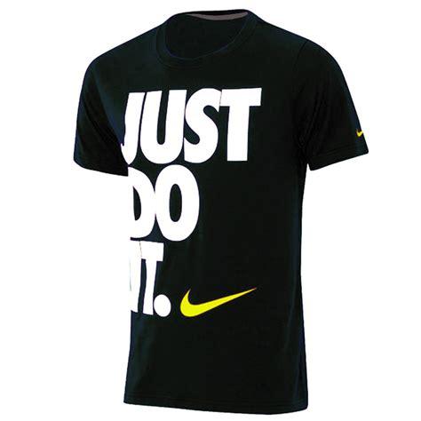 nike just do it s slim fit t shirt fitness shirt