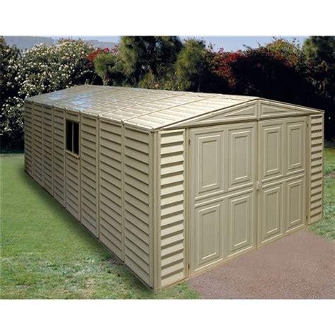 shedswarehouse madrid 10ft x 21ft duramax plastic