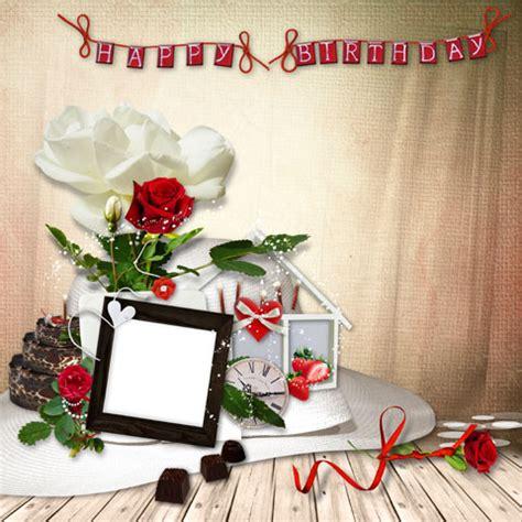 happy birthday design in photoshop happy birthday photo frame photoshop tutorials and add