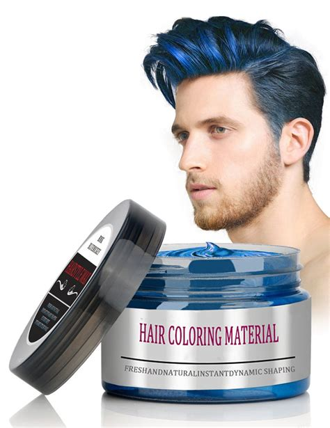 Hairstyle Wax Grey by Bmk Silver Gray Color Hair Wax Matte Hairstyle