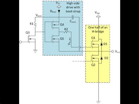 transistores igbt fet circuito driver bootstrap para transistores fet mosfets e igbt