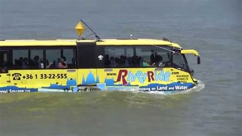 boat ride budapest river ride bus boat budapest 07 06 2015 youtube