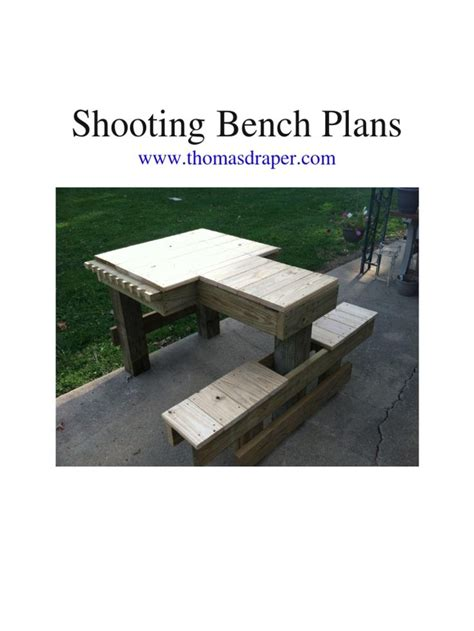 shooting bench building plans 1000 ideas about shooting bench on pinterest shooting