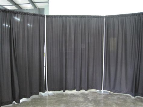 drape and pipe rental pipe and drape room knight s rental making your event