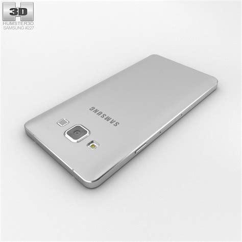Samsung A3 Platinum Silver Samsung Galaxy A3 Platinum Silver 3d Model Humster3d