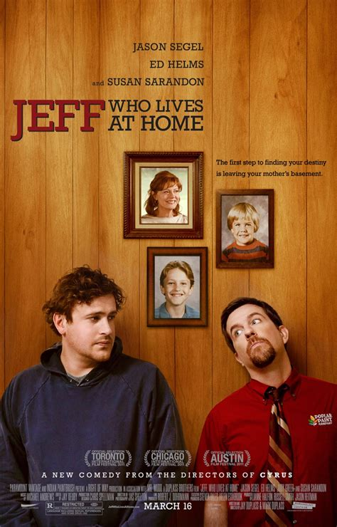 jeff who lives at home large poster image