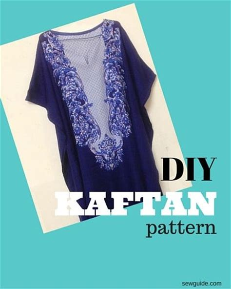 How to make a Kaftan dress or top   FREE Pattern   Sew Guide